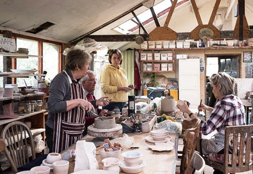 New Forest pottery Courses