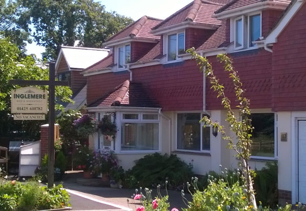 bed and breakfast in hordle, near Lymington