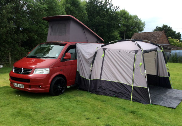 VW Campervan hire in the New Forest