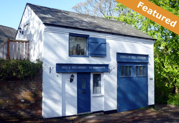 Vinegar hill pottery, Milford-on-Sea