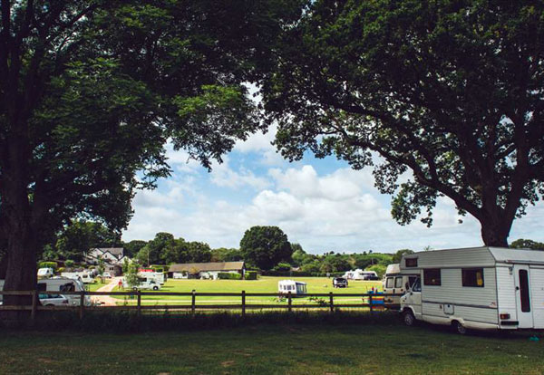Camping and touring park in Linwood, near Ringwood