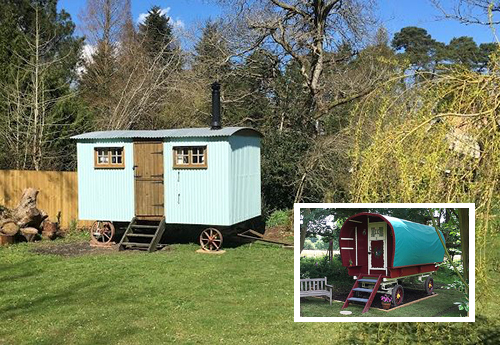 Ringwood B&B glamping experience